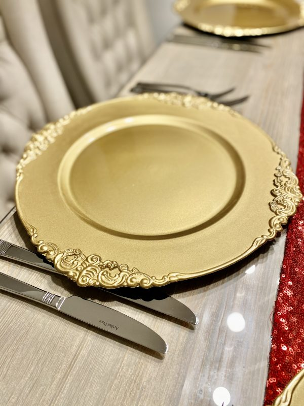 Ornate Charger Plate CH002