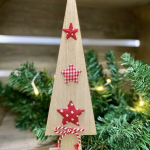 Wooden Tree with Stars CB36403