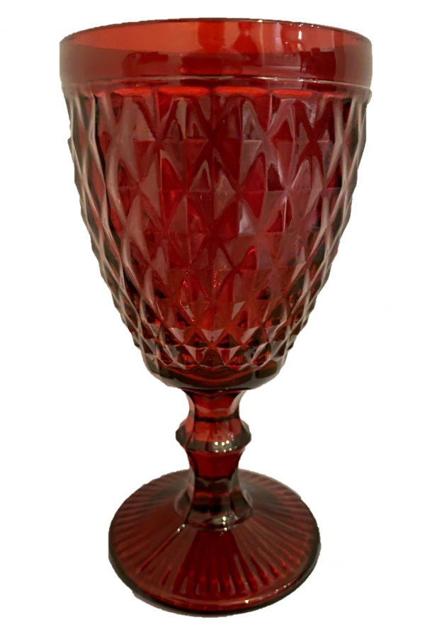 CH006R red goblet